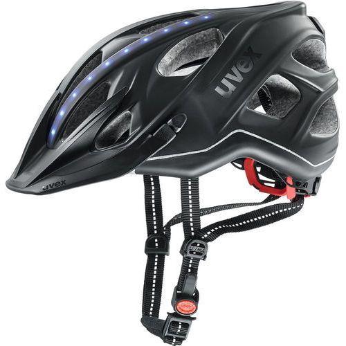 Uvex city light kask rowerowy, anthracite matte 56-61cm 2019 kaski miejskie i trekkingowe (4043197296159)