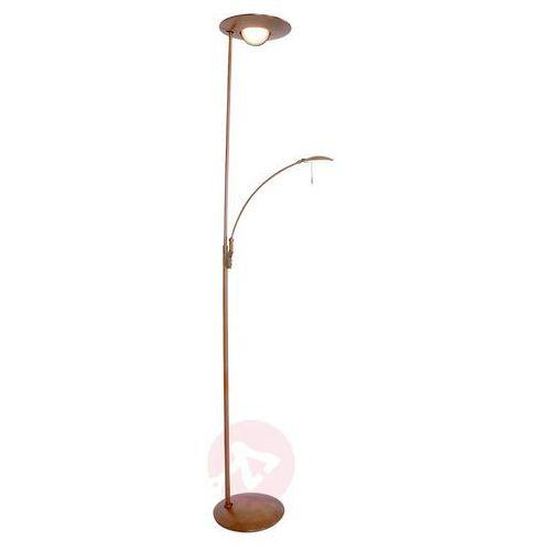 zenith lampa stojąca led brązowy, 2-punktowe - nowoczesny - obszar wewnętrzny - zenith - czas dostawy: od 6-10 dni roboczych marki Steinhauer