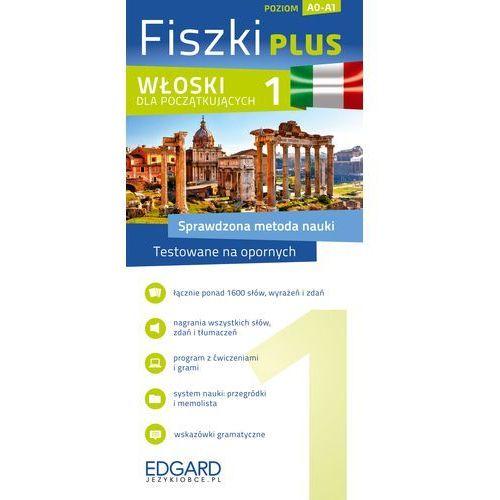 Fiszki Plus. Włoski dla początkujących 1, praca zbiorowa. Najniższe ceny, najlepsze promocje w sklepach, opinie.