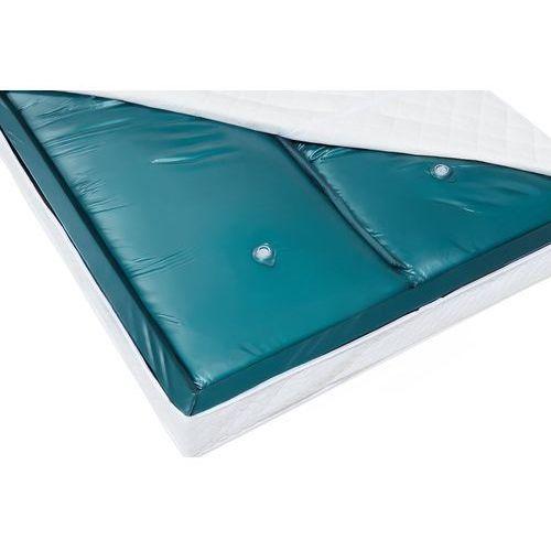 Materac do łóżka wodnego, dual, 160x200x20cm, mocne tłumienie marki Beliani