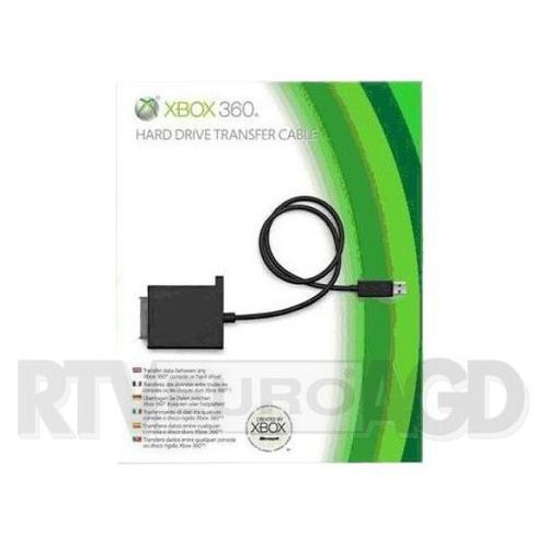 Akcesorium  kabel do przesyłania danych do dysku twardego konsoli xbox 360 marki Microsoft