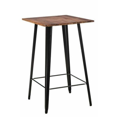D2.design Stół barowy paris wood czarny sosna (2200000121820)