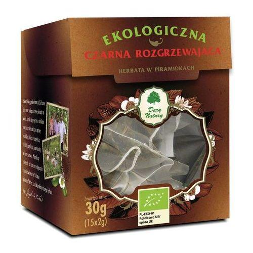 Dary natury - test Herbata czarna rozgrzewająca piramidki bio (15 x 2 g) - dary natury (5902581617361)