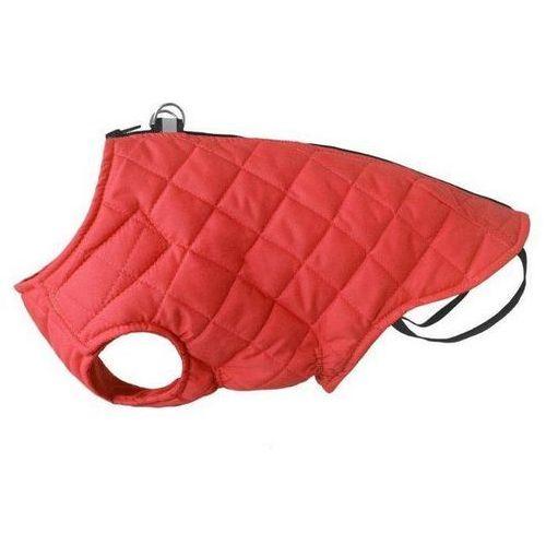 kurtka pikowana dla psa z odblaskiem kolor czerwony różne rozmiary marki Chaba