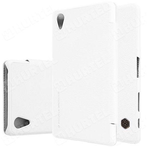 NILLKIN Qin skórzana kabura etui Sony Xperia X F5121 biała, kup u jednego z partnerów