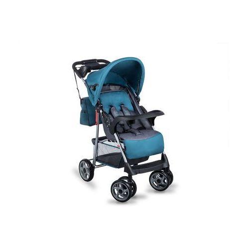 Wózek spacerowy Emma Plus turquoise/grey - DARMOWA DOSTAWA!!! (5902581652393)