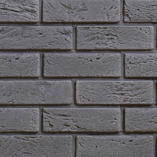 Cegły - kamień elewacyjny / dekoracyjny z fugą boston 1 grey marki Stegu