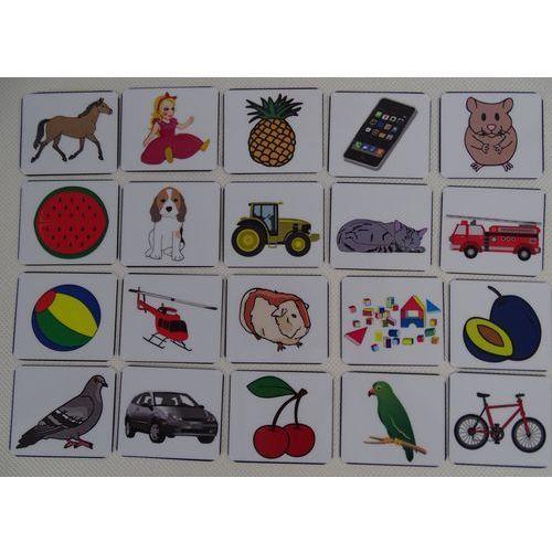 Znaczki rozpoznawcze na szafkę lub do tablicy motywacyjnej / znaczki różne 40 szt. marki Bystra sowa