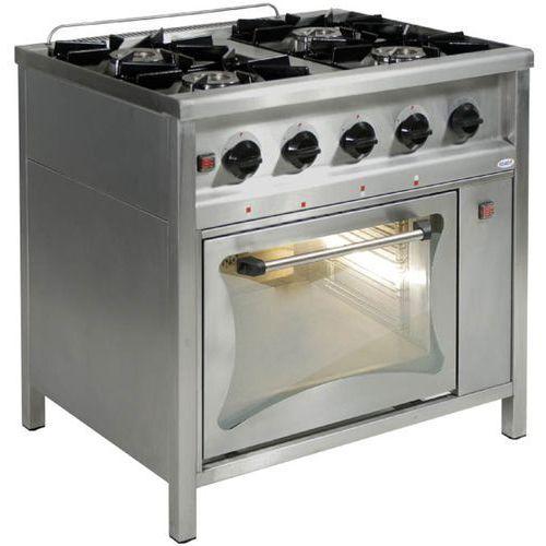 Egaz Kuchnia gazowa 4-palnikowa z piekarnikiem gazowym  tg 4725 + pg-1