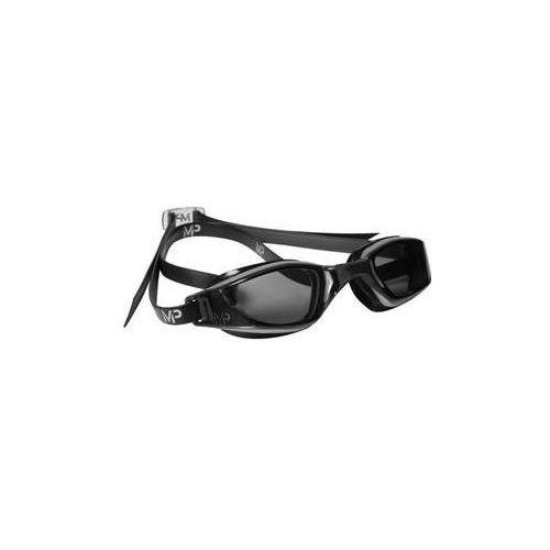 Męskie okulary pływackie xceed dark czarne/srebrne marki Michael phelps aqua sphere