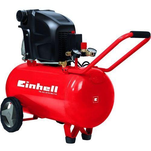 Einhell Kompresor olejowy te-ac 270/50/10 50 litrów + darmowy transport! (4006825594447)