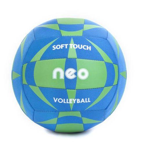 Spokey neo soft - piłka siatkowa neoprenowa; r.5 - niebieski
