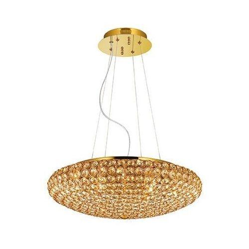 Ideal-lux Lampa wisząca king sp7 złota, 87986