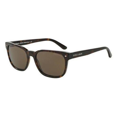 Okulary Słoneczne Giorgio Armani AR8049F Asian Fit 502653, kolor żółty