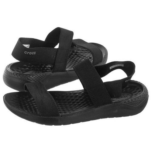 Crocs Sandały literide sandal w black 205106-060 (cr169-a)