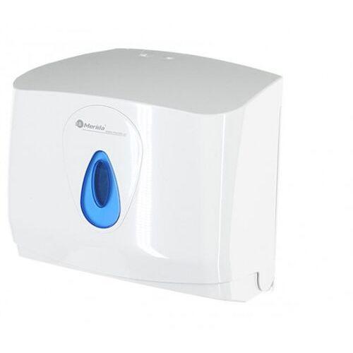 Pojemnik na pojedyncze ręczniki papierowe top mini, okienko niebieskie marki Merida
