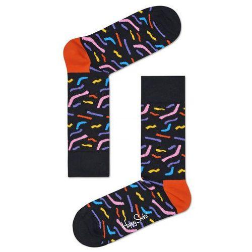 Happy Socks Papercut Skarpetki Czarny 36-40 (7333102054736)