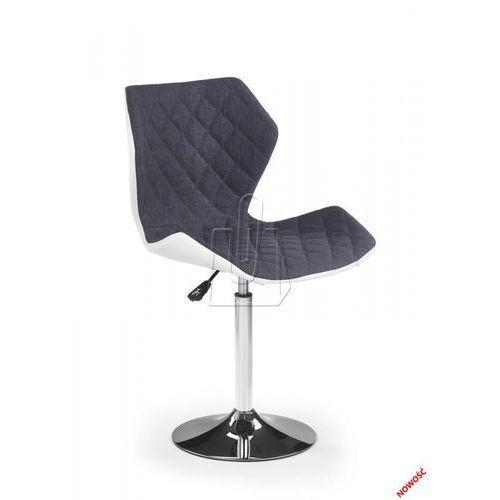 Fotel młodzieżowy  matrix 2 popielaty – dostawa gratis 24h marki Halmar
