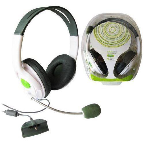 SŁUCHAWKI HEADSET STEREO DO XBOX 360 Z MIKROFONEM, towar z kategorii: Akcesoria do Xbox 360