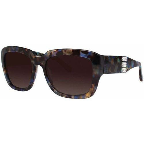 Vera wang Okulary słoneczne ciosa blue tortoise