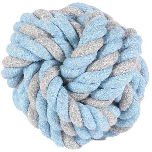 Piłka dla psa skręcona ze sznura knotted ball marki Little rascals