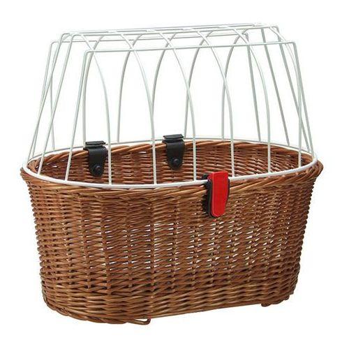 doggy basket fix koszyk rowerowy brązowy 2018 kosze na bagażnik marki Klickfix