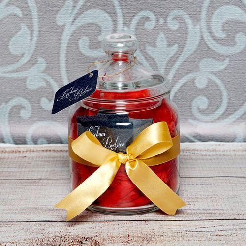 Słój życzeń: kochani rodzice - słój z 31 personalizowanymi karteczkami marki Mygiftdna