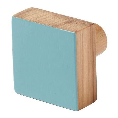 Cooke&lewis Wieszaczek drewniany nantua niebieski (3663602675457)