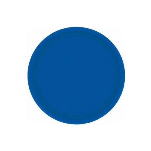 Amscan Talerzyki niebieskie - 18 cm - 20 szt. (0048419530404)