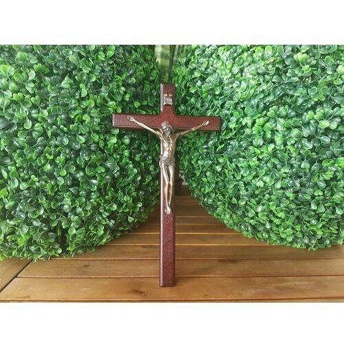 Wyjątkowy drewniany krzyż z jezusem (wu76807a13) marki Veronese