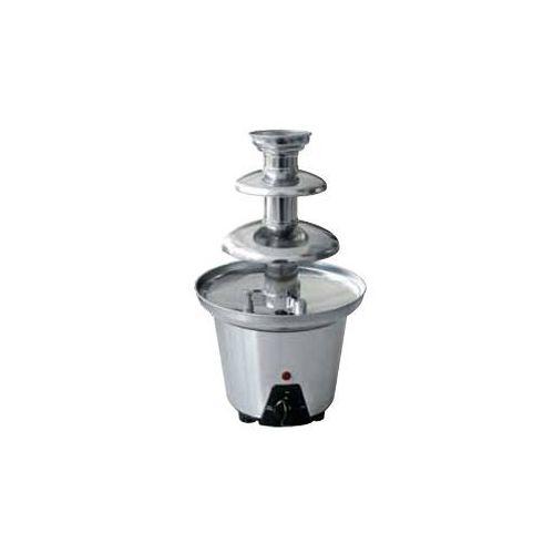 Czekoladowa fontanna ze stali nierdzewnej   600 g   90w   220-240v   śr. 190x(h)330mm marki Optimal