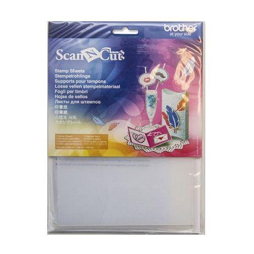 Zestaw arkuszy silikonowych do wycinania stempli ScanNCut CASTPS1, CASTPS1