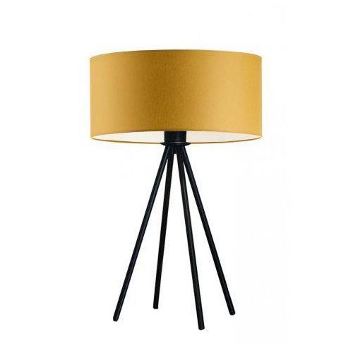 Oświetlenie SIERRA na stolik nocny czarny ze złotą folią, stare złoto (+35 zł), 14518-9