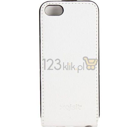 Pokrowiec XQISIT Flipcover (Samsung Galaxy S III mini) Biały (4029948100951)