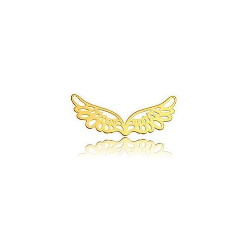 Zawieszka / łącznik skrzydła, złoto próba 585 bl 43-au marki 925.pl