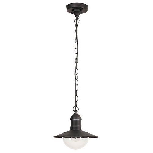 Lampa wisząca zewnętrzna Rabalux Oslo 1x60W E27 IP44 czarna 8717, 8717