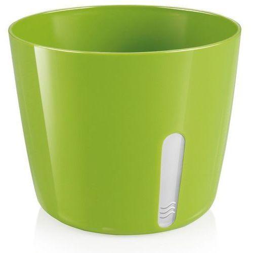 osłonka na doniczkę sense, okrągła, zielona marki Tescoma