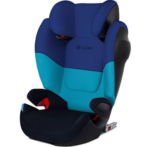 CYBEX fotelik samochodowy Solution M-Fix SILVER, Blue Moon (4058511136271)