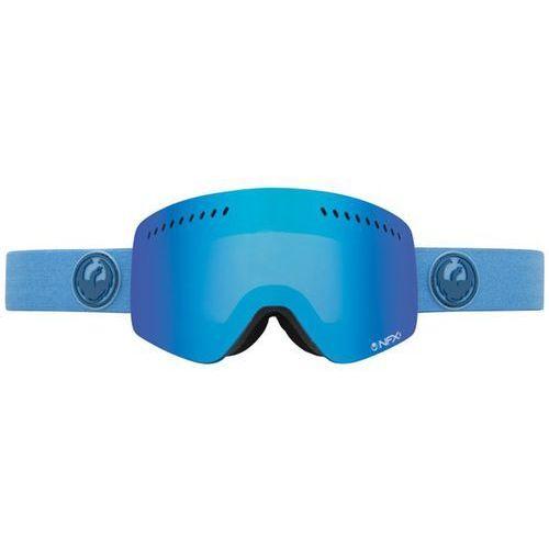 Dragon Gogle - nfxs brine heather (blue steel + yellow) (611) rozmiar: os