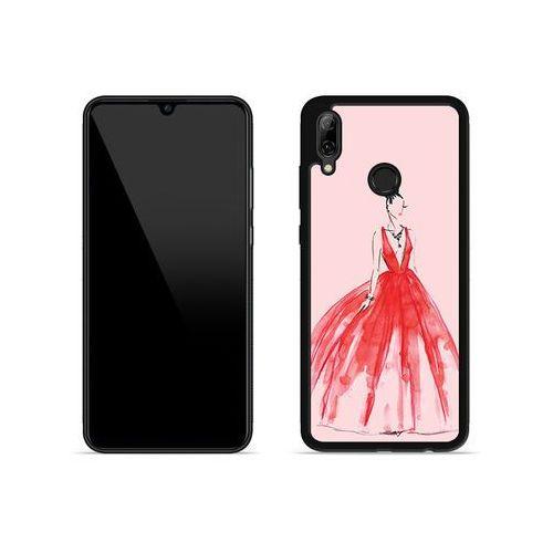 Etuo aluminum fantastic Huawei p smart (2019) - etui na telefon aluminum fantastic - czerwona suknia
