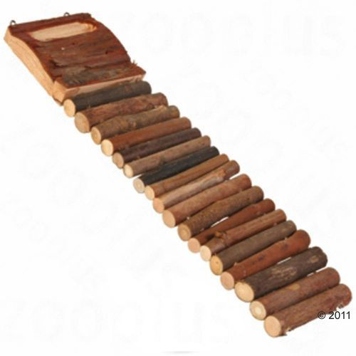 Drewniana drabinka dla gryzoni - ok. 27 cm marki Zooplus exclusive