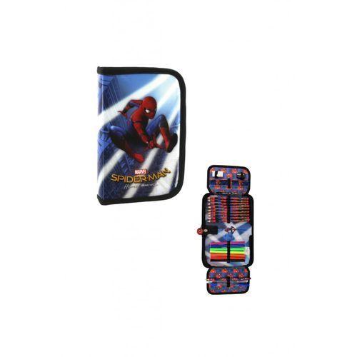 Piórnik jednokomorowy z wyposażeniem Spider-Man 10 (5901130050635)