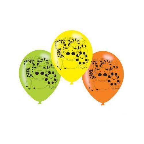 Balony urodzinowe Party w Dżungli - 23 cm - 6 szt.