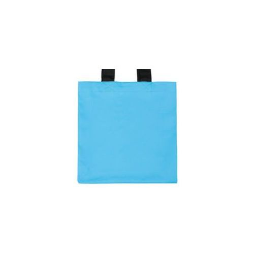 Torba bawełniana premium (bez nadruku, gładka) - niebieska
