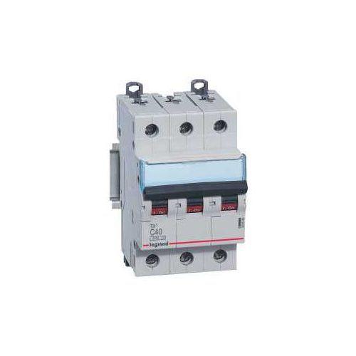 Wyłącznik nadprądowy 3P C 40A 6kA AC S303 605654/403549 Legrand (3245066056548)