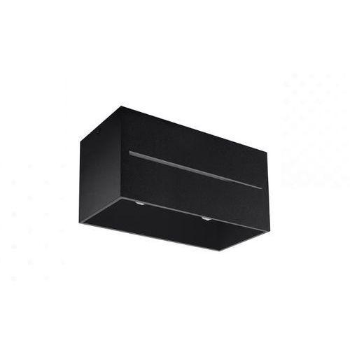 Spot plafon Sollux Lobo Maxi SL.0384 oprawa sufitowa 2x40W GU10 czarny (5902622428833)