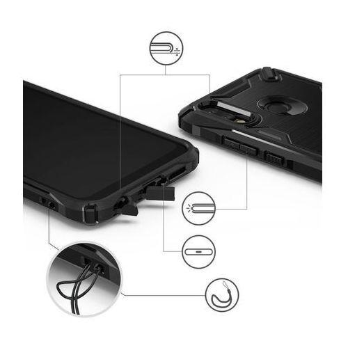 Ringke Onyx X pancerne etui pokrowiec Huawei P20 Lite czarny (XXHW0001), kolor czarny