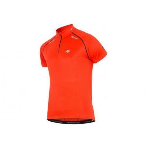 4f bluza męska rowerowa czerwona rkm003 r. s