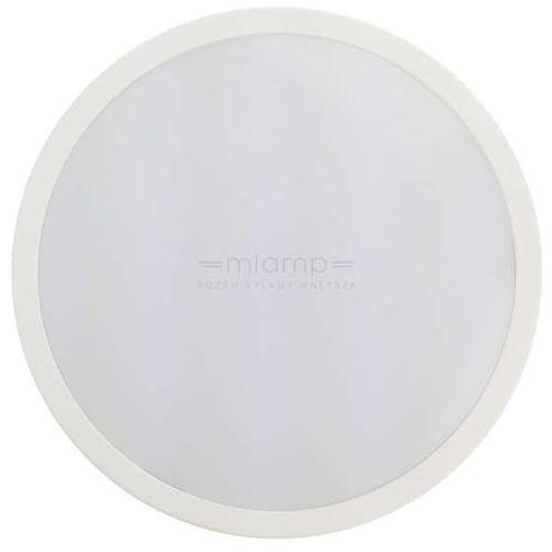 Natynkowa LAMPA sufitowa EK811 Eko-light ścienna OPRAWA kinkiet LED 24W okrągły IP65 biały, EK811