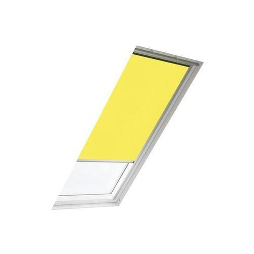 Roleta przyciemniająca rfl mk04 4073 żółta 78 x 98 cm marki Velux